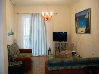 Photo for Apartment 96 m from the center of Kallithea with Internet, Lift, Parking, Terrace (395874)