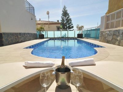 Photo for Club Villamar - Nice and modern villa with private pool, internet access and located not far from the beach and all amenities