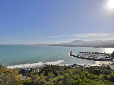 Photo for Self catering luxury apartments with stunning sea, beach and old harbour views