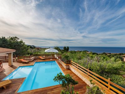 Photo for Villa Paola with private pool and waterfall spa