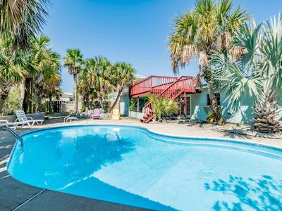 Photo for Great Beach Home W/Private Pool & Fenced-in Yard! Pet Friendly