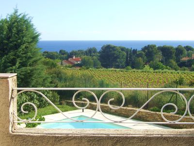 Photo for Beautiful villa in enchanting 5 minutes from the beach