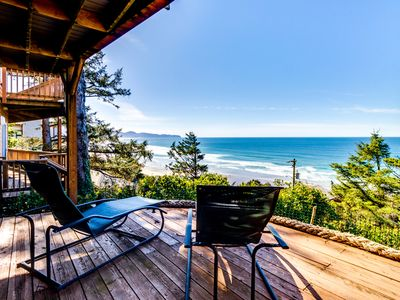 Photo for Cozy house w/ sweeping ocean views and convenient, nearby beach access!