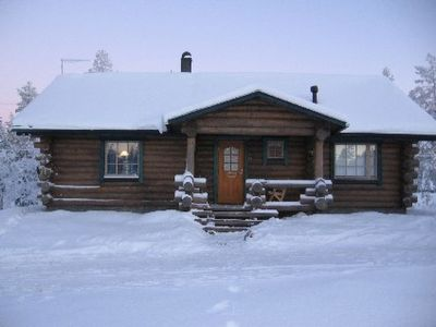 Photo for Vacation home Hanhela in Äkäslompolo - 8 persons, 2 bedrooms