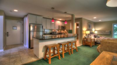 Photo for Renovated Two Room Condo Suite, Close to Mtn! #342