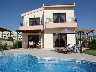 Photo for Pissouri Villa, Sleeps 4 with Pool and Air Con