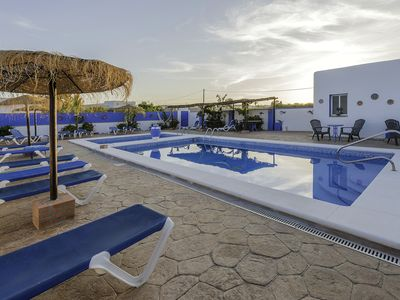 Photo for Lovely holiday home with garden and pool - Casa Ibicenca 3