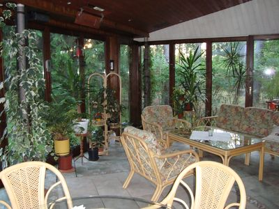 Photo for Individually and tastefully furnished cottage with air conditioning and 25 q
