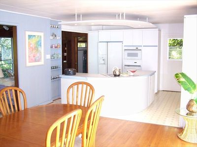 Photo for Waimanalo Beach Family Home,  2 Bed, 2 Bath, Steps to Beach