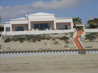 Photo for Elegant Beachfront Estate on Large Lot with Extensive Patios