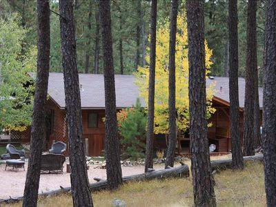 Cabin W/Guest House on 5 Acres....Great for  2 Families  - 1 Mile from Town