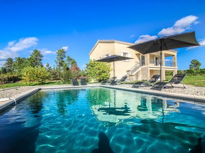 Photo for VILLA 6 PEOPLE WITH PRIVATE SWIMMING POOL IN BORDER AREA NATURAL BANNE