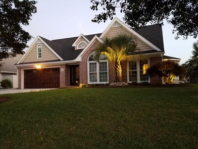 Photo for Lakefront Oasis Centrally Located. Everything New. Custom Elegant Features.