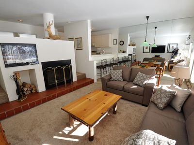 Photo for Cozy 1 Bedroom East Vail Condo #2C. Shuttle, Hot Tub, and Market on Site.