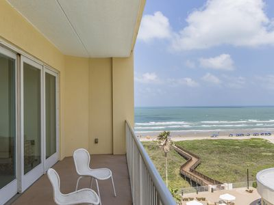 Photo for Treat yourself with the Spa, Beachfront Dinning, Oceanfront Pool & Beautiful Views of the Gulf!