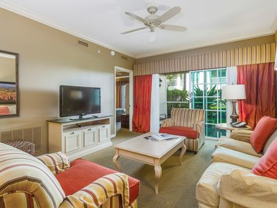 Photo for NEW LISTING! Spacious condo w/shared pool, hot tub & on-site restaurant/bar