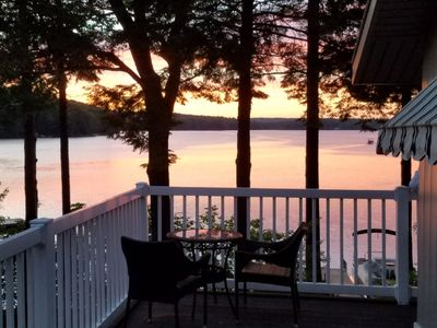 Photo for Furnished 3 Bedroom Lake House With Beautiful Views of Middle Range Pond