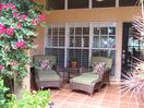 Seating on front porch