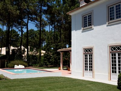 Photo for Stunning Villa within Golf Resort, Pool, next to the beach ( Lisbon - Portugal).