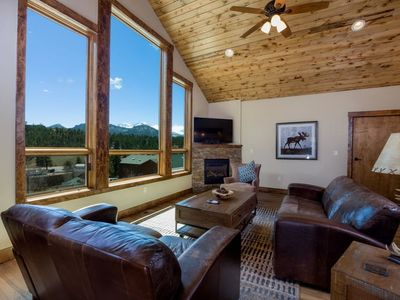 Photo for Three bedroom conjoining townhome with garage and stunning views.