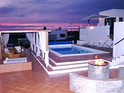 Photo for Villa With Private Heated Pool FREE WiFi, air conditioning, pool heating