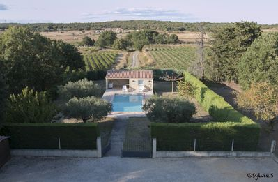 Photo for Villas with secured pool North East of Uzès 8 or 12 pers