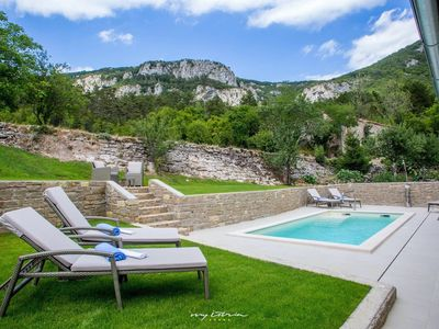 Photo for Beautiful villa with private pool and sauna