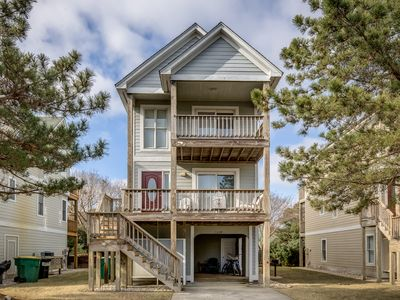 Photo for Heart of Corolla | 1750 ft from the beach | Dog Friendly, Community Pool