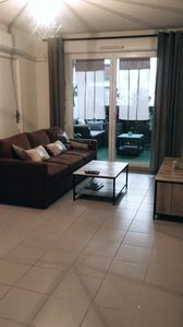 Photo for Nice t2 cozy CLIM, terrace (4 people) private parking near stadium velodrome