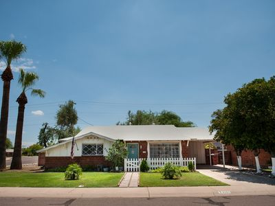 Photo for Luxury Little Brick House with Big Backyard: Old Town Scottsdale