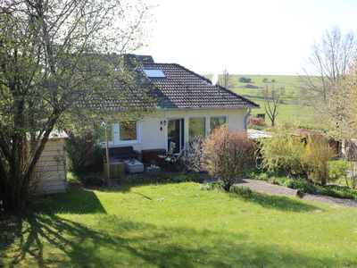 Photo for Cozy holiday house near Eifel National Park with private garden & lounge terrace