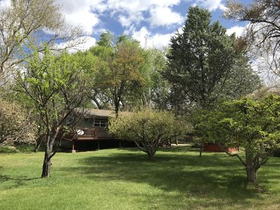 Photo for Intro Reduced Rate! Luscious Greenery! Beautiful Home! Private Hot Tub! Trails