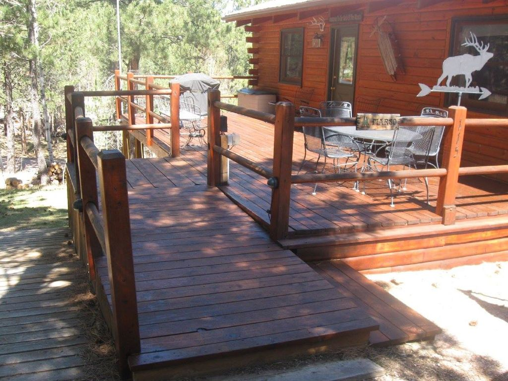 Swiss drive centrally located to all attrac vrbo for Pactola lake cabins