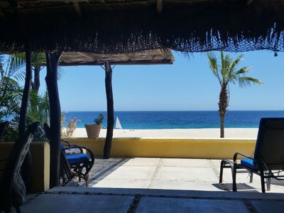 Photo for Delightful Beachfront home right in Los Barriles