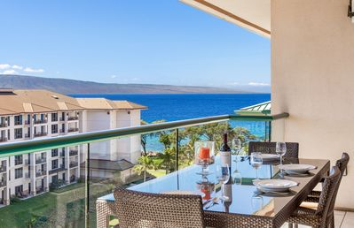 Photo for Maui Resort Rentals: Honua Kai Hokulani 818 - Top Floor 1BR w/ Partial Ocean & Mountain Views!