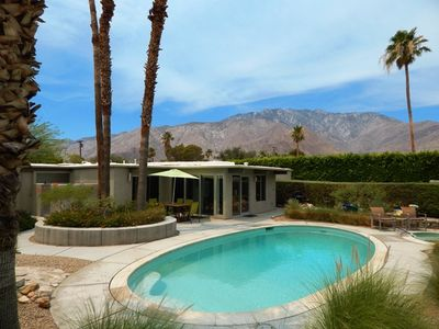 The view that you'll remember from this Palm Springs Oasis!