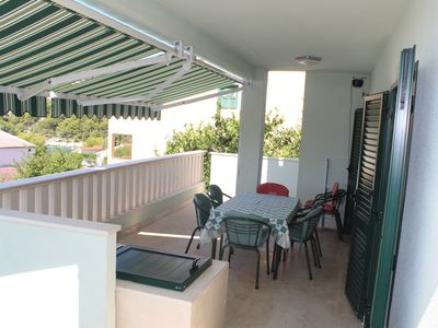 Photo for Apartment 4+2 with a big terrace and sea view