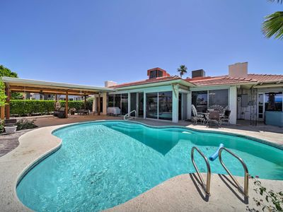 Photo for Lakefront Sun City Home w/Game Room, Spa & Pontoon
