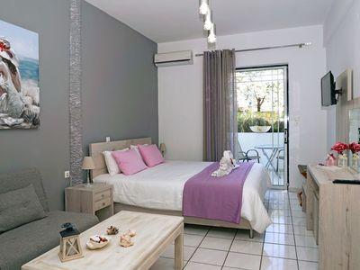 Photo for Sunset Studio with Terrace 50meters from the beach-Newly refurbished studio