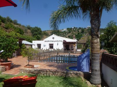Photo for This 3-bedroom villa for up to 6 guests is located in Frigiliana and has a private swimming pool and