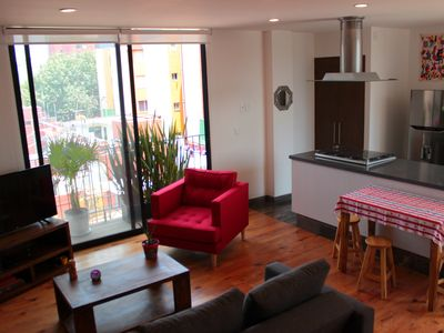 Photo for 1BR Apartment Vacation Rental in Escandón II Secc, CDMX