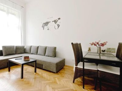 Photo for Apartment in the center of Budapest with Lift, Internet, Terrace (389823)