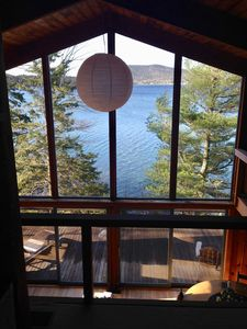 Photo for Acadia National Park-- secluded ocean-front cottage