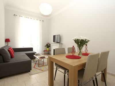 Photo for Family-friendly apartment in an authentic neighborhood and its open market