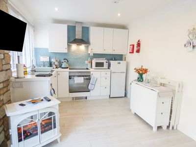 Photo for SEAGULLS REST, pet friendly, with pool in St Ives, Ref 968596