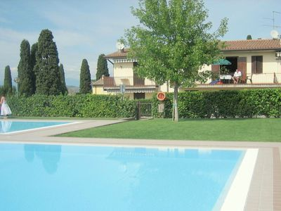Photo for Delightful Holiday Home in Lazise with Swimming Pool