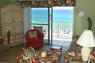 Living Room View to Beach