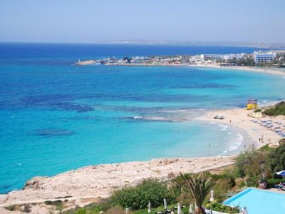 Photo for Beautiful Apartment with communal pool, Ayia Napa Apartment 1282