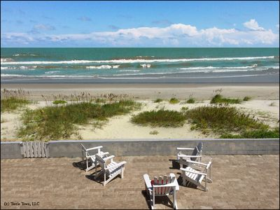 Photo for LRG DIRECT OCEAN/BEACH FRONT HOME, SLEEPS 14, 5 BED, 4 BA, ½ MI TO FLAGLER (GW)