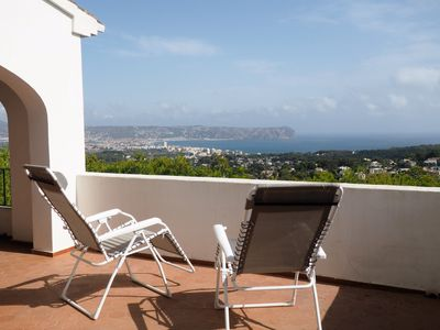Photo for Charming Spanish villa, panoramic sea view, Free Wifi, quiet surrounding